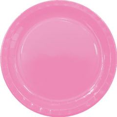 Solid Colors - Paper Plates Large 23cm Fuchsia - 89502