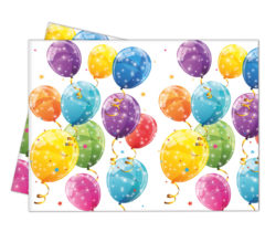 Sparkling Balloons - Plastic Tablecover 120x180cm