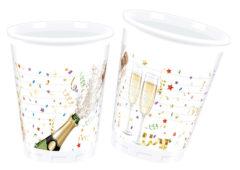 Sparkling Celebration - Plastic Cups 200ml