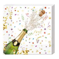Sparkling Celebration - Three-ply Paper Napkins 33x33cm