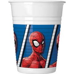 Spiderman Team  Up - Plastic Cups 200ml - 89447