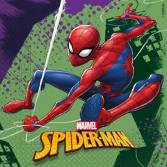 Spiderman Team  Up - Two-Ply Paper Napkins 33x33cm - 89448