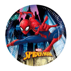 Spiderman Team  Up - Paper Plates Medium 20cm - 89446