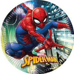 Spiderman Team  Up - Paper Plates Large 23cm - 89445