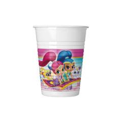 Shimmer & Shine - Plastic Cups 200ml - 89944