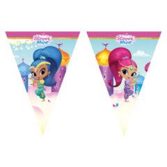 Shimmer & Shine - Triangle Flag Banner (9 Flags) - 89949