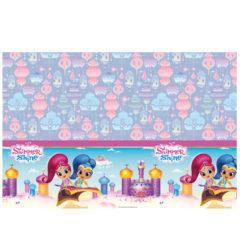 Shimmer & Shine - Plastic Tablecover 120x180cm - 89946