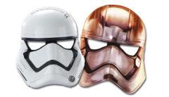 Star Wars The Last Jedi - Die-cut Masks - 86226