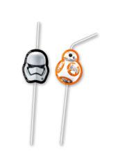 Star Wars The Last Jedi - Medallion Flexi Drinking Straws - 86219