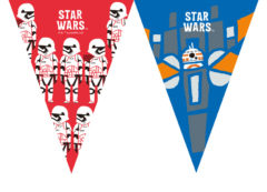 Star Wars Forces - Triangle Flag Banner (9 Flags)