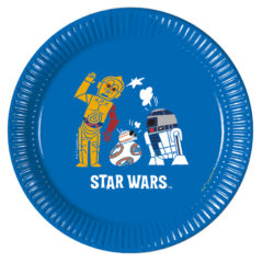 Star Wars Forces - Paper Plates Medium 20cm