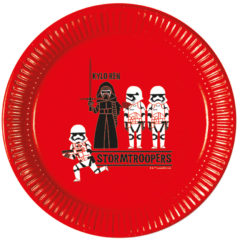 Star Wars Forces - Paper Plates Large 23cm
