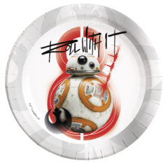 Star Wars Episode 8 - Paper Plates Large 23cm (rebels)