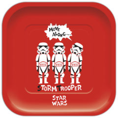 Star Wars Paper Cut - Shaped Plates - 88988