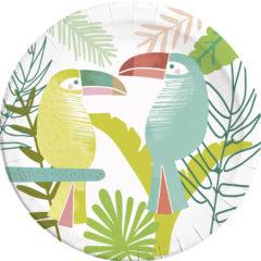 Toucan - Paper Plates Large 23 cm - 90561
