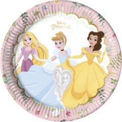 True Princess - Paper Plates Large 23cm - 88956