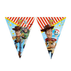 Toy Story 4 - Disney Pixar Toy Story 4 Flag Banner (9 flags) - 91214