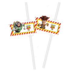 Toy Story 4 - Paper Drinking Straws - 90875