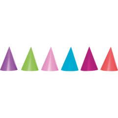 Unicolour Hats and Horns - Unicolour Hats (Assorted Colours) - 89179