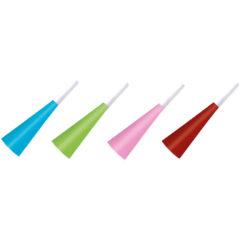 Unicolour Hats and Horns - Unicolour Horns (Assorted Colours) - 89704