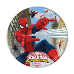 Ultimate Spider-Man Web Warriors - Paper Plates Large 23cm - 85151