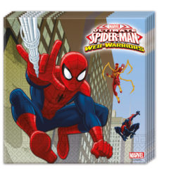 Ultimate Spider-Man Web Warriors - Two-ply Paper Napkins 33x33cm - 85154