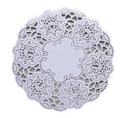 Dolies - White Round 10cm