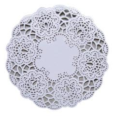 Dolies - White Round 17cm