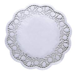Dolies - White Round 30cm