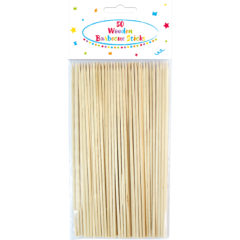 Everyday - Wooden Barbecue Skewers - 89176