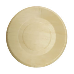 Decorata™ Wooden Products - Wooden Plates 19cm - 90798