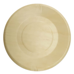 Decorata™ Wooden Products - Wooden Plates 21cm - 90797