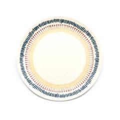 Decorata™ Bamboo Fiber African Set - Bamboo Fiber Plate 20cm - 90748