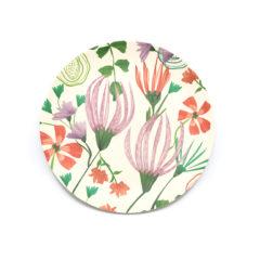 Decorata™ Bamboo Fiber Floral Set - Bamboo Fiber Plate 20cm - 90760
