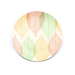 Decorata™ Bamboo Fiber Leaf Set - Bamboo Fiber Plate 20cm - 90765