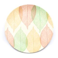 Decorata™ Bamboo Fiber Leaf Set - Bamboo Fiber Plate 24cm - 90764