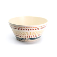 Decorata™ Bamboo Fiber African Set - Bamboo Fiber Bowl 14,7cm - 90749