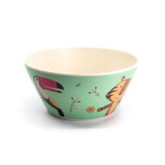 Decorata™ Bamboo Fiber Wild Animals Set - Bamboo Fiber Bowl 14,7cm - 90745