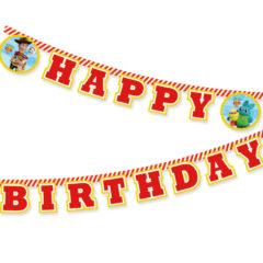 Toy Story 4 - Disney Pixar Toy Story 4 Happy Birthday Paper Banner 2m - 90876