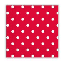 Napkins & Dots - Three-ply Paper Napkins 33x33 cm - 80711