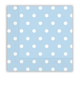 Napkins & Dots - Three-ply Paper Napkins 33x33 cm - 80717