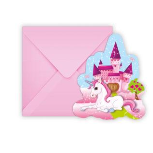 Unicorn - Die-cut Invitations & Envelopes - 85675