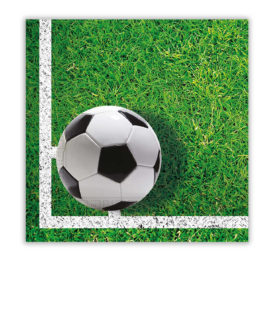 Football Party - Two-ply Paper Napkins 33x33 cm - 86869