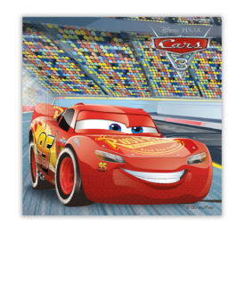 Cars 3 - Two-ply Paper Napkins 33x33 cm - 87799