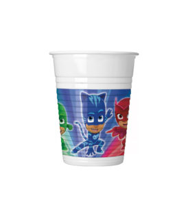 Pj Masks - Plastic Cups 200ml - 88632