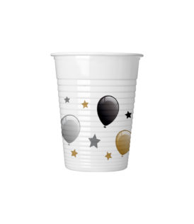 Milestone - Drinking Cups 200 ml Balloons - 88862