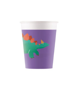Dino Roar - Paper Cups 200 ml - 90247