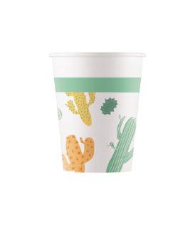 Cacti - Paper Cups 200 ml - 90553