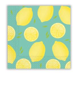 Lemons - Two-Ply Paper Napkins 33x33 cm - 90572