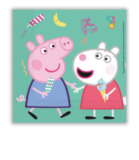 Peppa Pig Messy Play - Two-Ply Paper Napkins 33x33 cm - 91034